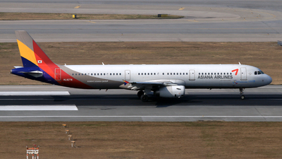 HL8278 - Airbus A321-231 - Asiana Airlines