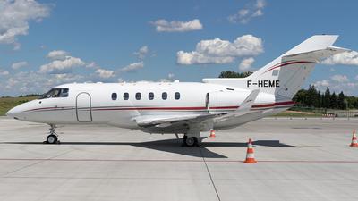 F-HEME - Hawker Beechcraft 900XP - VallJet