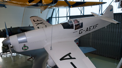 G-AEXF - Percival P6 Mew Gull - Private
