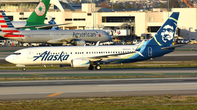 A picture of N593AS - Boeing 737890 - Alaska Airlines - © Martin Nimmervoll