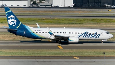 A picture of N593AS - Boeing 737890 - Alaska Airlines - © global_flyer1