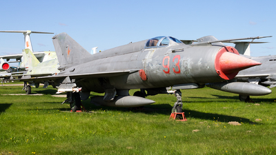 92 - Mikoyan-Gurevich MiG-21S Fishbed J - Soviet Union - Air Force