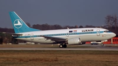 LX-LGR - Boeing 737-528 - Luxair - Luxembourg Airlines