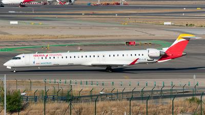 A picture of ECLJX - Mitsubishi CRJ1000 - Iberia - © Enrique Rubira