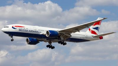 G-YMMK - Boeing 777-236(ER) - British Airways