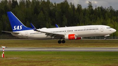 A picture of LNRGI - Boeing 73786N - SAS - © OSL Planespotting
