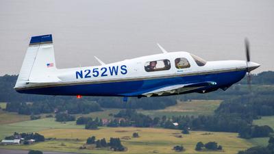 N252WS  - Mooney M20K 252 TSE - Private