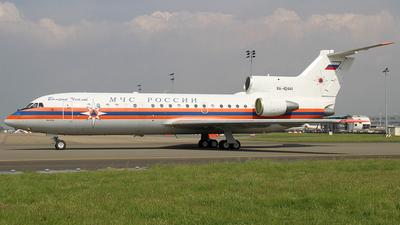 RA-42441 - Yakovlev Yak-42D - Russia - Ministry for Emergency Situations (MChS)