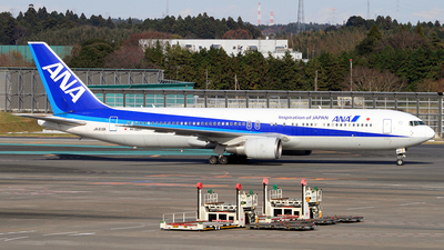 JA613A - Boeing 767-381(ER) - All Nippon Airways (Air Japan)