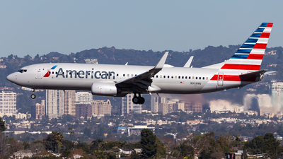 A picture of N908NN - Boeing 737823 - American Airlines - © Brandon Giacomin