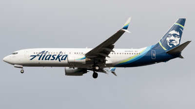 A picture of N529AS - Boeing 737890 - Alaska Airlines - © Andrew Wu