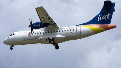 V2-LID - ATR 42-600 - Leeward Islands Air Transport (LIAT)