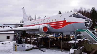 OK-NDF - Tupolev Tu-104A - CSA Ceskoslovenske Aerolinie