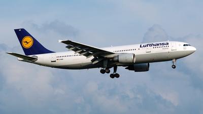 D-AIAK - Airbus A300B4-603 - Lufthansa