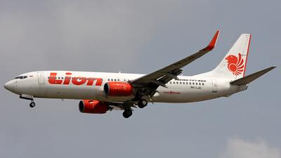 PK-LJU - Boeing 737-8GP - Lion Air