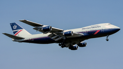 G-BDXA - Boeing 747-236B - British Airways