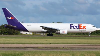 A picture of N153FE - Boeing 7673S2F(ER) - FedEx - © Angel Natal
