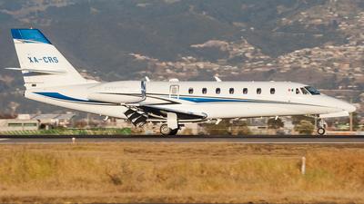 A picture of XACRS - Cessna 680 Citation Sovereign - [6800061] - © Marcos Nava Zarazua