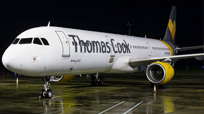 VP-CCG - Airbus A321-211 - Thomas Cook Airlines