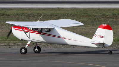 C-GINC - Cessna 140 - Private