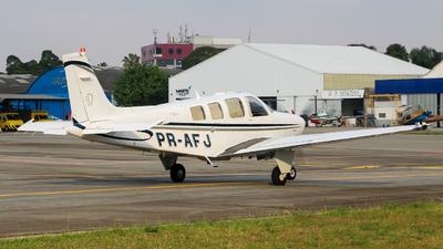 PR-AFJ - Beechcraft G36 Bonanza - Private