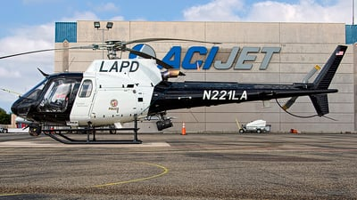 N221LA - Airbus Helicopters H125 - United States - Los Angeles Police Department (LAPD)