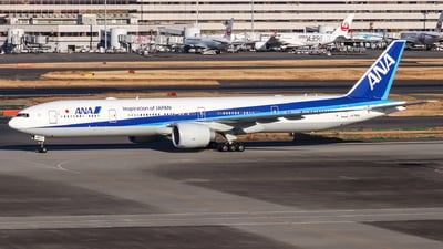 A picture of JA790A - Boeing 777381(ER) - All Nippon Airways - © Jhang yao yun