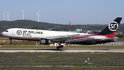 A picture of B7593 - Boeing 767338(ER)(BCF) - SF Airlines - © Thomas Wade