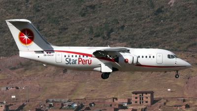 OB-1943-P - British Aerospace BAe 146-200 - Star Perú