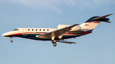 N521FP - Cessna 750 Citation X - Private