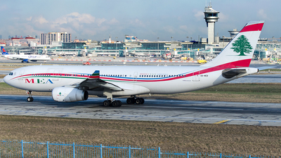OD-MEB - Airbus A330-243 - Middle East Airlines (MEA)