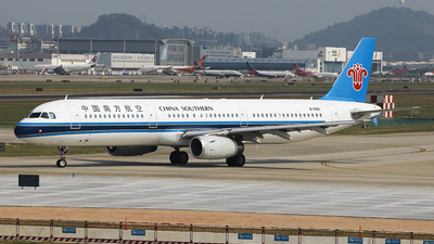A picture of B6661 - Airbus A321231 - China Southern Airlines - © Luo Chun Hui