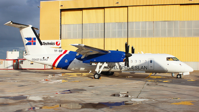 TF-SIF - Bombardier Dash 8-Q314 - Iceland - Coast Guard
