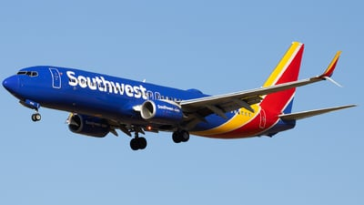A picture of N8694E - Boeing 7378H4 - Southwest Airlines - © Angelos Panou