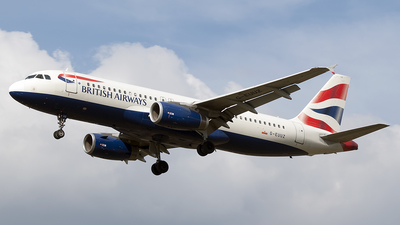 G-EUUZ - Airbus A320-232 - British Airways