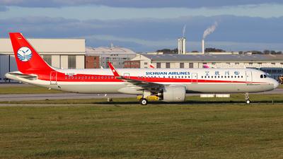 D-AVZF - Airbus A321-271N - Sichuan Airlines