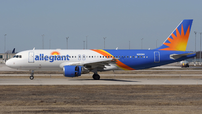 A picture of N261NV - Airbus A320214 - Allegiant Air - © DJ Reed - OPShots Photo Team