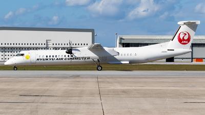 A picture of JA84RC - De Havilland Canada Dash 8400 Combi - Ryukyu Air Commuter - © H.Hayashi