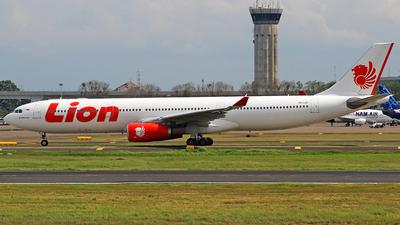 PK-LEF - Airbus A330-343 - Lion Air