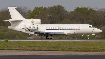 OO-FAE - Dassault Falcon 7X - Belgium - Air Force (Luxaviation)