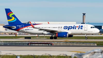 A picture of N638NK - Airbus A320232 - Spirit Airlines - © Haocheng Fang