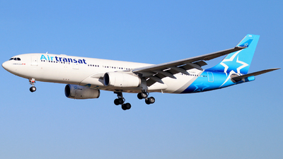 A picture of CGUBT - Airbus A330243 - Air Transat - © Aditya Dwi Hardianto