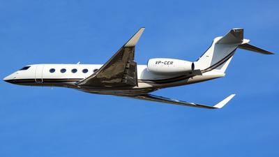 VP-CER - Gulfstream G650ER - Private