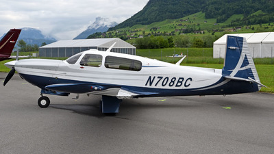N708BC - Mooney M20TN Acclaim - Private