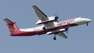 VT-SQI - Bombardier Dash 8-Q402 - SpiceJet