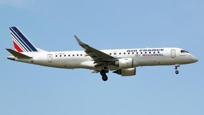 F-HBLB - Embraer 190-100LR - Air France (Régional Compagnie Aerienne)