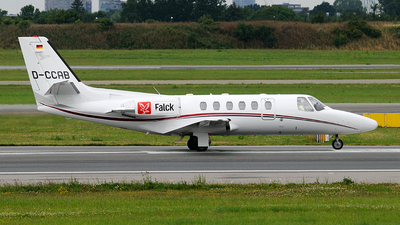 D-CCAB - Cessna 550B Citation Bravo - Private