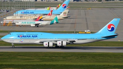 HL7631 - Boeing 747-8B5 - Korean Air