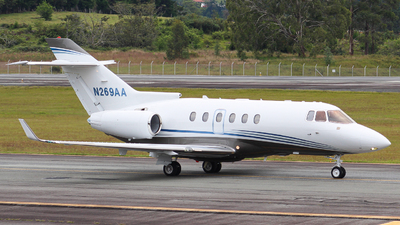 N269AA - Hawker Beechcraft 850XP - Private