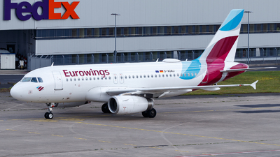 A picture of DAGWJ - Airbus A319132 - Eurowings - © TJDarmstadt
